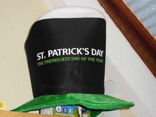 Min hatt från St Paddys Day!