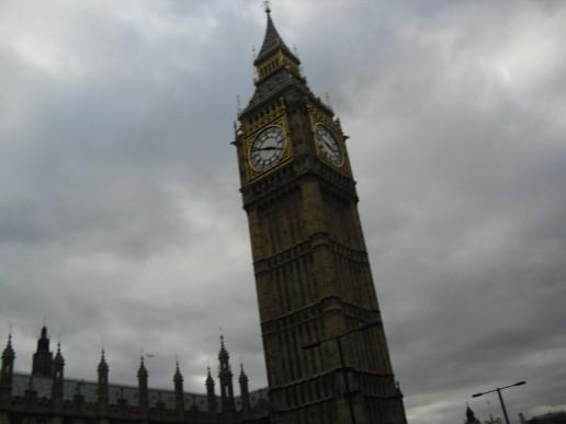 Nåt gammalt klocktorn..