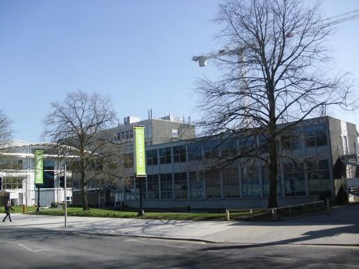 En del av Gypsy Lane Campus på Oxford Brookes University